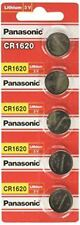CR1620/5 PANASONIC 3V Lithium Battery (Pack of 5)