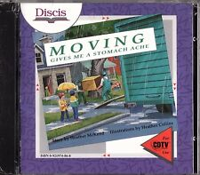 Moving Gives Me a Stomache Ache by Discis - Commodore CDTV CD-ROM - Sealed