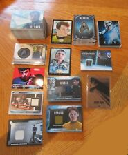 2017 Star Trek Beyond Movie Trading Cards Ultra Mini-Master Set w/ Pins & Relics