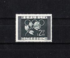 Autriche  jeux Olympiques d' Oslo et Helsinki   de 1952  num: 809  *