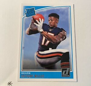 2018 Donruss Football ANTHONY MILLER Rated Rookie BEARS RC