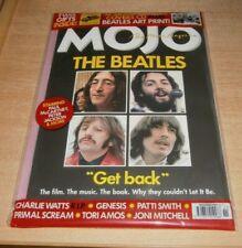Mojo magazine Nov 2021 The Beatles, Charlie Watts, Genesis, Patti Smith + CD