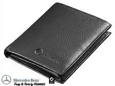 Orginal Mercedes Geldbörse Geldbeutel Etui schwarz Rindsleder B66951351