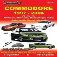 Commodore VT VX VU VY VZ Workshop Car Repair Service Manual Book V6 V8 Ellery