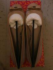 Tory Burch Addyson Ballet Softy Suede Beige Flats Size 6