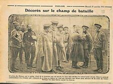 décorations Champ de Bataille St George's Cross Imperial Russia Army WWI 1915