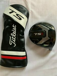 TS1 Titleist Driver Head and Cover - 12.5 Degree - Excellent Condition