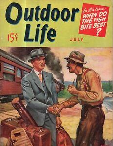 1940 Outdoor Life July - English Springer Spaniel; Snake Country; Antelope;