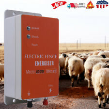 Electric Fence Controller Energizer Charger Ranch Animal Cattle Poultry Usa