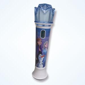 Disney Frozen II Magical Microphone Sing Along Songs Music Karaoke Anna Elsa