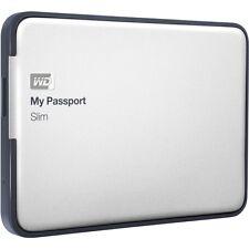 """WD My Passport Slim 2tb USB 3.0 (wdbpdz 0020bal) 2,5"""" disco rigido esterno argento"""