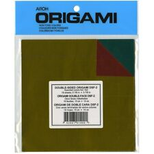 "Origami Paper 5.875""x5.875"" 18/pkg-assorted Foil/foil Double-sided"