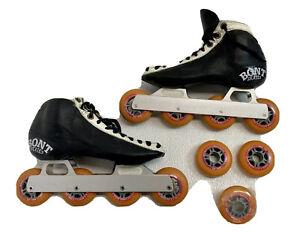 Vintage Bont Skates 4 Wheel Inline Racing Speed Skates Rapidline So 7 1/2 40 EUR