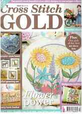 English cross stitch magazine Cross Stitch Gold 113  oop
