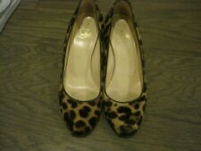 Christian Louboutin 80mm Leopard Pony Hair Pump 37