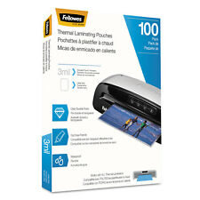 Fellowes Laminating Pouches Letter Size Hot Pouch 9 x 11.5 3 mil 100 pack