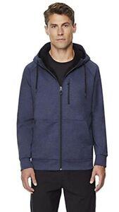32 DEGREES Men's Sherpa Lined Full Zip Hoodie, Variety