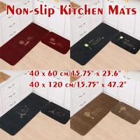 Kitchen Bathroom Carpet Home Mat Decor Anti-slip Floor Rug Entrance Door Carpet