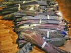 50 x Assorted Silk Mens Ties. Individually Wrapped Handmade Wholesale Lot.