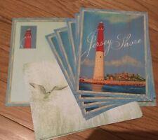 6 New Jersey Shore Barnegat Lighthouse Blank Note Cards Pretty Envelope