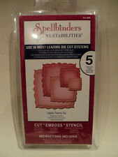 SPELLBINDERS NESTABILITIES LABELS TWENTY-SIX (5 DIES) S4-366 BNIP