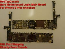 Bare Motherboard Logic Main Board For iPhone 6 Plus unlocked NOT FULL Frm CANADA