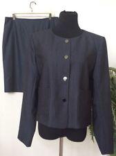 NWT Calvin Klein Women's Black Polyester Blend 2 Piece Skirt Suit Sz 14 Ret.$280
