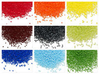 7.5 grams Miyuki Delica 15/0 glass seed beads round All Opaque Many colors