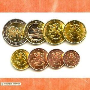 Kursmünzensatz Finnland 2013 1c-2 Euro•Münze•KMS alle 8 Münzen Satz Eurosatz Set
