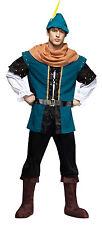 Adult Medieval Robin Hood Renaissance Costume One Sz