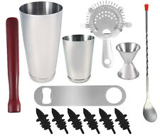 13 piece Professional Bartender Kit, Bartending Tools, Cocktail Shaker Set