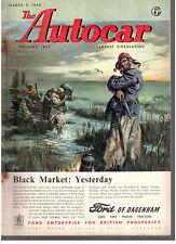 revue automobile: the Autocar: march 5 1948