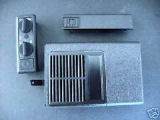New Minitor II Housing Knobs Refurb Kit Black Motorola