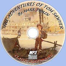 TOM SAWYER POR MARK TWAIN Clásico audiolibro MP3 CD All Time Mejor Vendedor