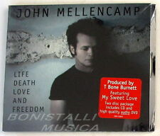 JOHN COUGAR MELLENCAMP - LIFE DEATH LOVE AND FREEDOM - CD + DVD Audio Sigillato