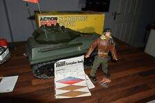Vintage Action Man Scorpion Tank with Tracks & tank commander boxed excellent