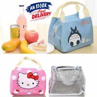 Portable Lunch Bag Thermal Insulated Carry Tote Cooler Box Travel
