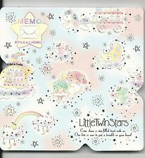 Sanrio Little Twin Stars Notes Fold Memo