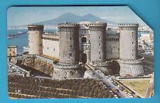 SCHEDA ITALIA USATA  5000 PRIVATE RESE PUBBLICHE NAPOLI CASTELLO  GOLDEN 306