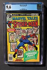Marvel Tales #98 Death GWEN STACY GREEN GOBLIN Amazing Spider-Man 121 CGC 9.6