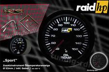 Raid HP Sport Serie Öltemperatur Zusatzinstrument Anzeige 52mm Stepper Motor