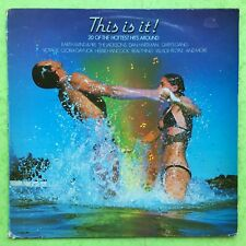 This Is It! - 20 Of The Hottest Hits Around - CBS 10014 Ex Condition Vinyl LP