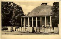 Jena Thüringen alte DDR s/w Ansichtskarte 1956 Partie am Planetarium Kuppeldach