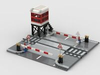 Lego Level Crossing MOC Instructions Only NO BRICKS Or Parts!