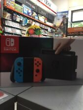 Console Nintendo Switch Color Neon Red & Blue NUOVA SIGILLATA
