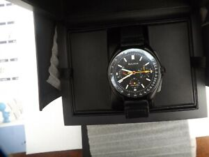 a fine  gents bulova apollo 15 watch - boxed with papers