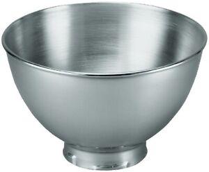 KitchenAid Stainless 3-Quart Mixing Bowl | Fits 4.5- and 5-Quart Tilt-Head Ki...