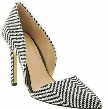 Banana Republic Womens Adelia D'orsay Pump Heels Size 9.5 Black/White