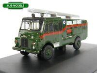 BNIB N GAUGE OXFORD DIECAST 1:148 NGG003 Green Goddess RAF Fire Engine