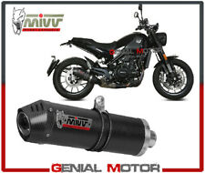 Mivv Approved Exhaust Muffler Oval Carbon Fiber BENELLI LEONCINO 2017 > 2019